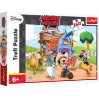 TF15337_001w Puzzle Trefl, Mickey Mouse fermierul, 160 piese