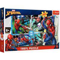 Puzzle Trefl 160 piese, Spiderman salveaza lumea