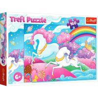 Puzzle Trefl 160 piese, Unicorni in galop
