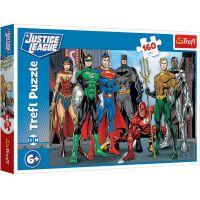 TF15400_001w Puzzle Trefl, Justice League, De neinvins, 160 piese