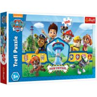TF16351_001w Puzzle Trefl, Paw Patrol, Echipa eroilor, 100 piese