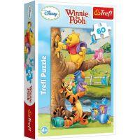 TF17264_001w Puzzle Trefl, Winnie the Pooh, Un pic de ceva, 60 piese