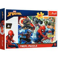 Puzzle Trefl 60 piese, Curajosul Spiderman
