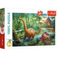 Puzzle Trefl 60 piese, Migratia dinozaurilor
