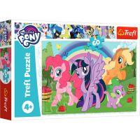 Puzzle Trefl 60 piese, Curcubeul prieteniei, My Little Pony