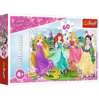 TF17347_001w Puzzle Trefl, Disney Princess, Printesele favorite, 60 piese