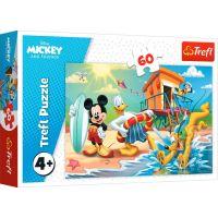 Puzzle Trefl 60 piese, O zi interesanta pentru Mickey si prietenii, Mickey Mouse