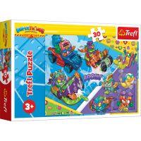 Puzzle Trefl 30 piese, Echipa Super Spionilor, Super Things
