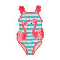 20211315 20211316 Costum de baie cu design aplicat flamingo Minoti Tg Swim