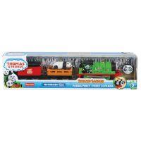 GLK69_002w Locomotiva motorizata Thomas and Friends, Safari cu animalute, Panda Percy