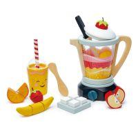 TL8229_001 Set de joaca, Blender din lemn, Fruity Blender, Tender Leaf Toys, 22 piese