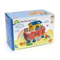 TL8305_001 Set de joaca din lemn Tender Leaf Toys, Arca lui Noe, 23 piese