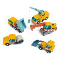 TL8355_001 Set utilaje de construit din lemn Tender Leaf Toys, 5 piese