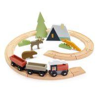 TL8701_001 Set Tren montan din lemn Tender Leaf Toys