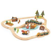 TL8702_001 Set Tren din lemn Tender Leaf Toys TL8702