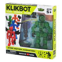 TST1600 Figurina Robot articulat transformabil KlikBot, Green