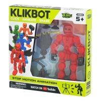 TST1600 Figurina Robot articulat transformabil KlikBot, Red