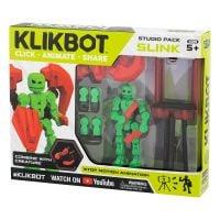 TST2600 Set Figurina Robot articulat transformabil KlikBot, Green