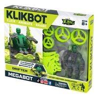 TST667 Set Figurina Robot articulat transformabil KlikBot Megabots Drifter, Green