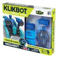 TST667 Set Figurina Robot articulat transformabil KlikBot Megabots Trailblazer, Blue
