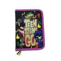 TTG04731_001w Penar cu fermoar si doua flapsuri Teen Titans