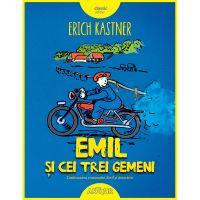 TW106_001w Carte Editura Arthur, Emil si cei trei gemeni, Erich Kastner