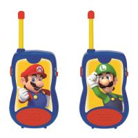 TW12NI_001w Set Statie Walkie Talkie Lexibook Super Mario, 120 m