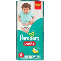 Scutece Pampers Active Baby Pants, 6 Extra Large, 44 buc, 16+ kg