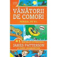 JUN.1326_001w Carte Editura Corint, Vanatorii de comori Vol 2, Pericol pe nil