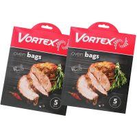 VO 311X2_001w Set 2 pachete pungi pentru cuptor Vortex (5 bucpachet)