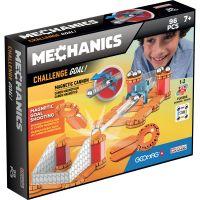GEOM769_001w Joc de constructie magnetic Geomag Mechanics Challenge Gravity, 96 piese