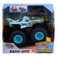Masinuta Hot Wheels Bash Ups, Zombie Shark GDR85