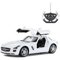 47600R_2018_062 Masina cu telecomanda Rastar Mercedes Benz SLS AMG 1:14, Alb