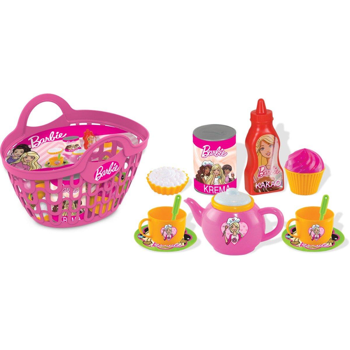 Cos de picnic cu accesorii Barbie