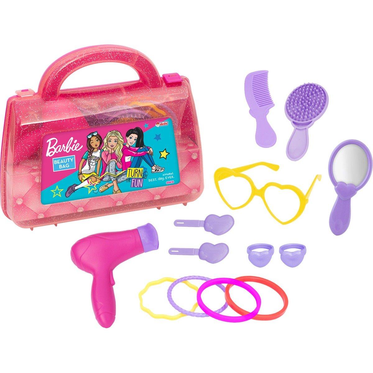 Setul de infrumusetare Barbie