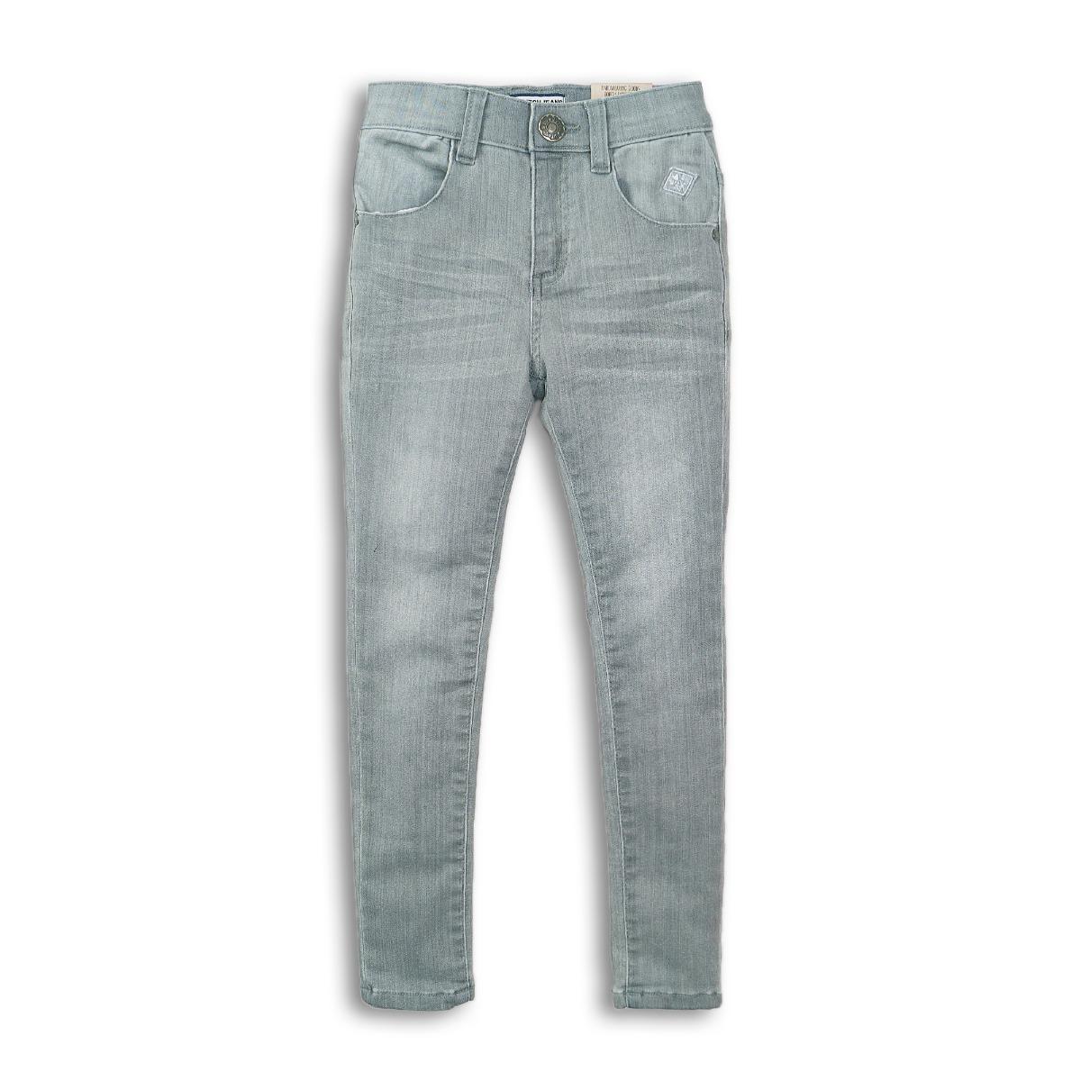 Pantaloni jeans denim elastic gri Dj Dutchjeans