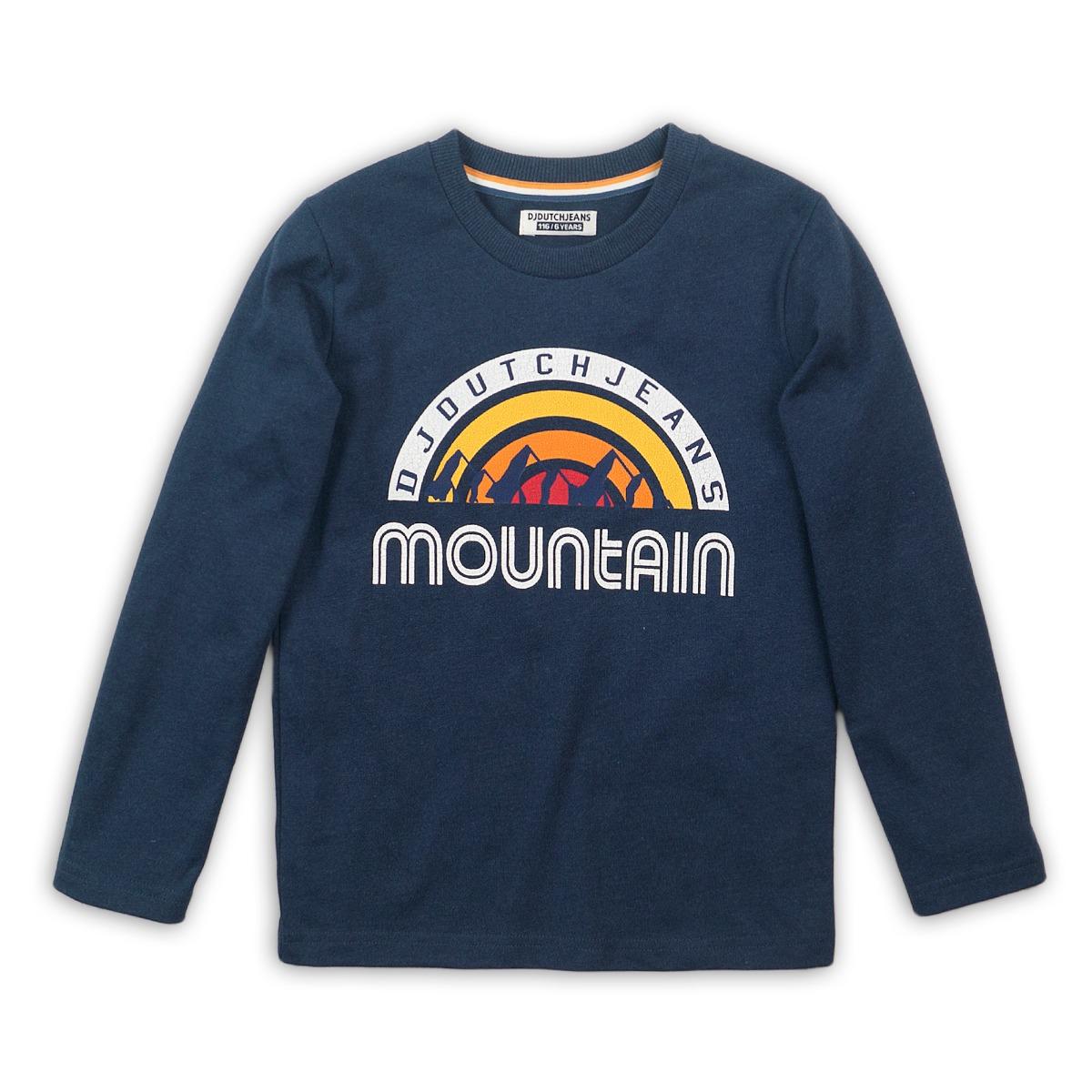 Tricou cu maneca lunga Mountain Dj Dutchjeans imagine