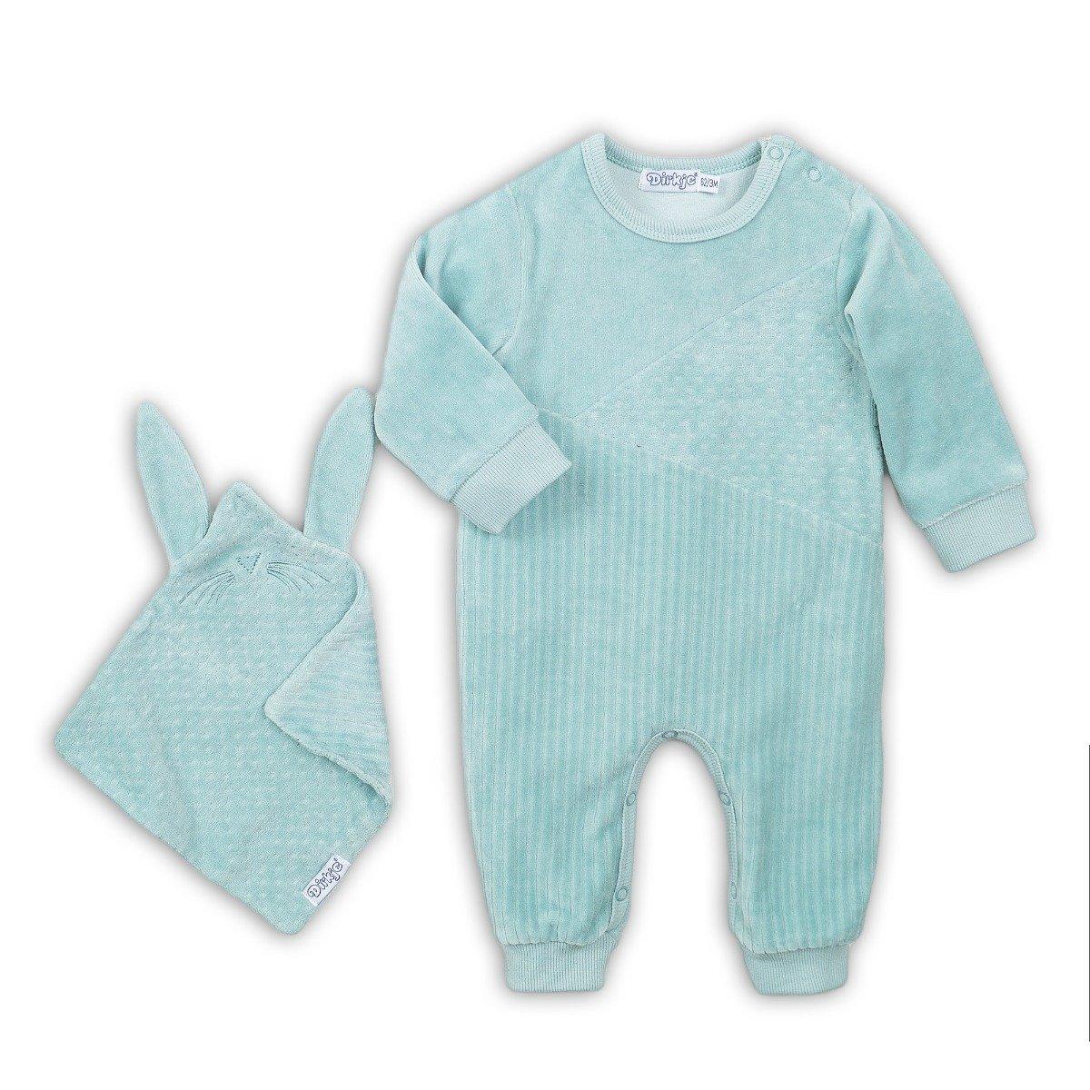 Set salopeta bebe si accesoriu Dirkje imagine