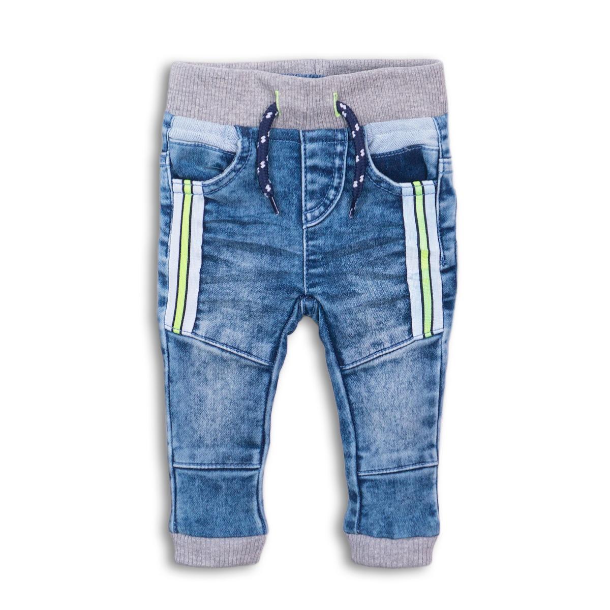 Pantaloni jeans denim elastic Dirkje imagine