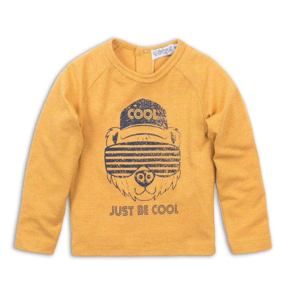 Tricou cu manca lunga Just Be Cool Dirkje imagine