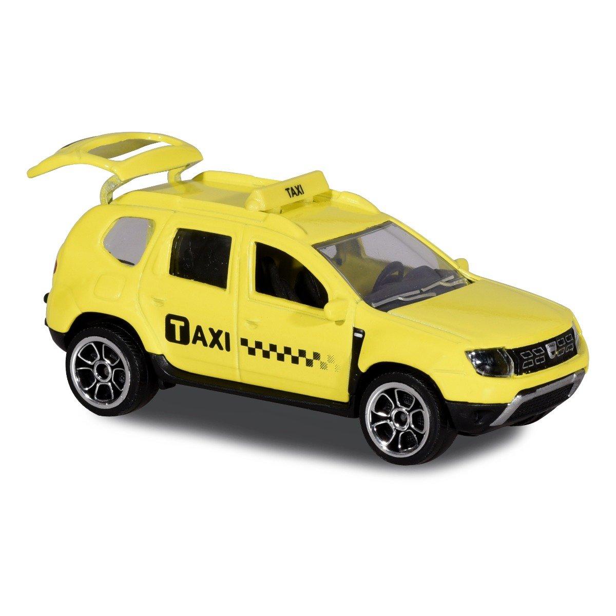 Masinuta Dacia Duster Majorette, 7.5 cm, Taxi imagine