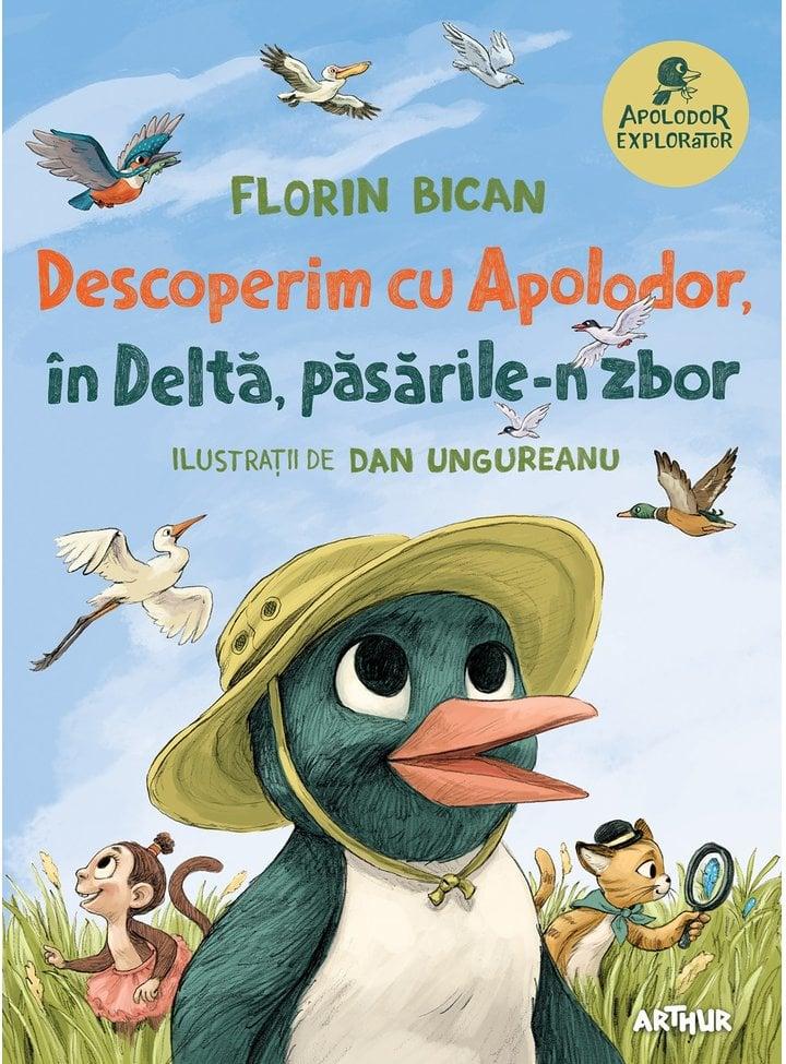 Descoperim cu Apolodor, in Delta, pasarile-n zbor, Florin Bican