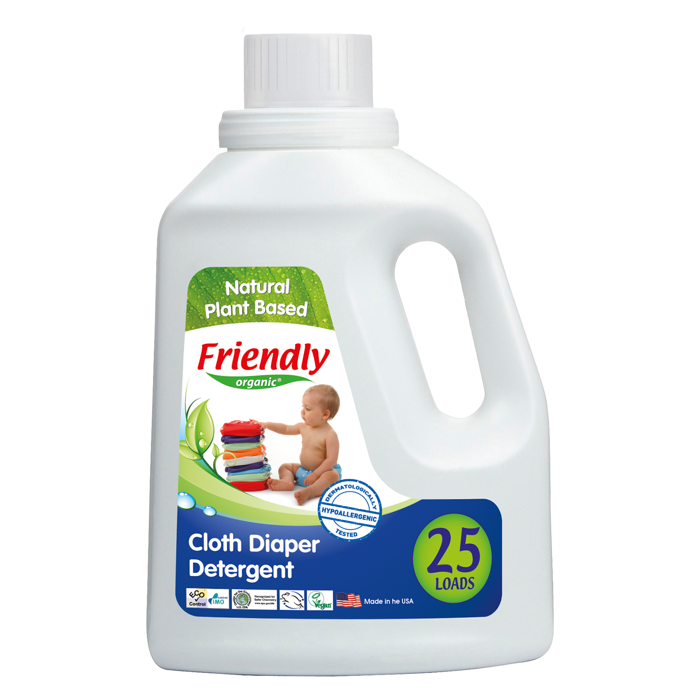 detergent lichid bio pentru rufe friendly organic - plante (25 spalari)