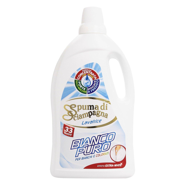detergent lichid spuma di sciampagna bianco puro, 2145ml