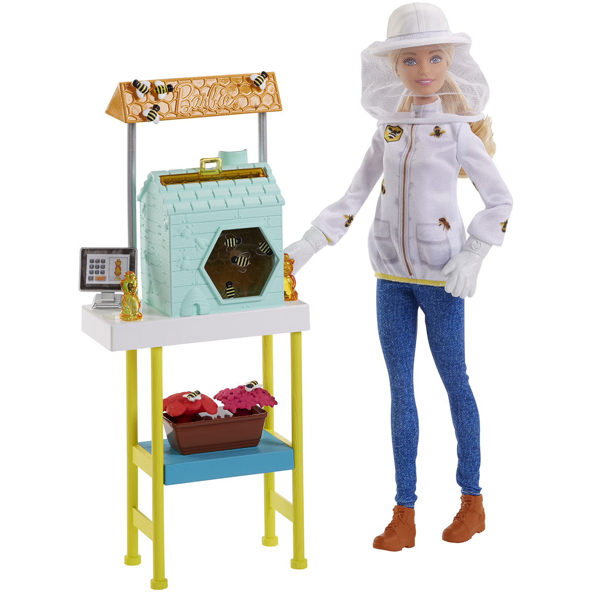 Set de joaca Barbie, Apicultor, FRM17