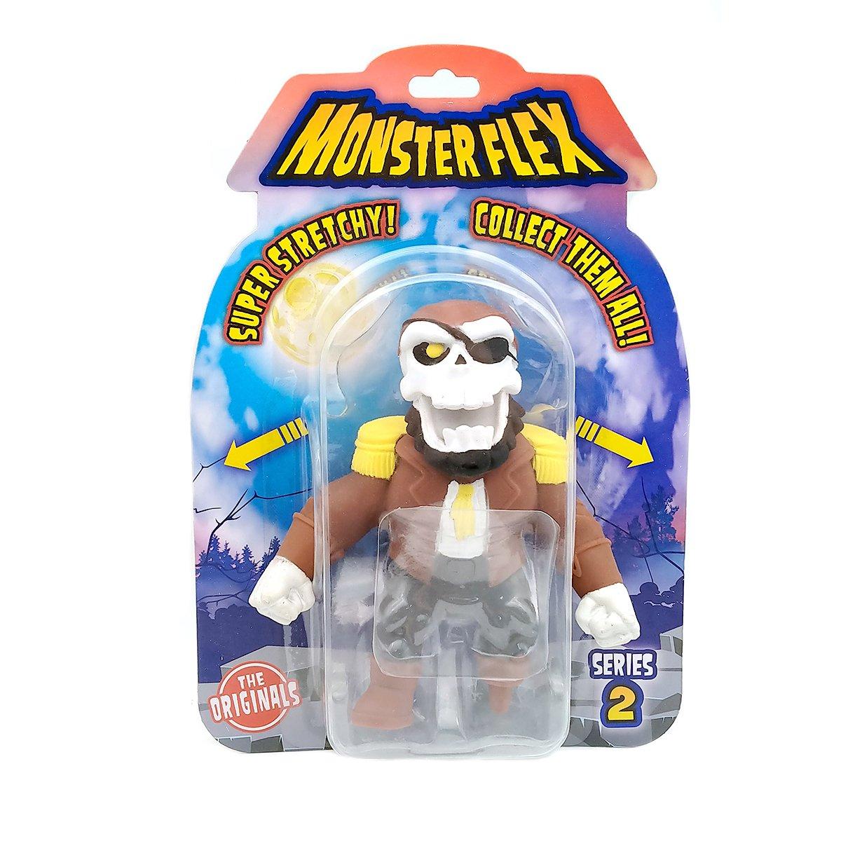 Figurina flexibila Monster Flex, S2, Ghost Pirate