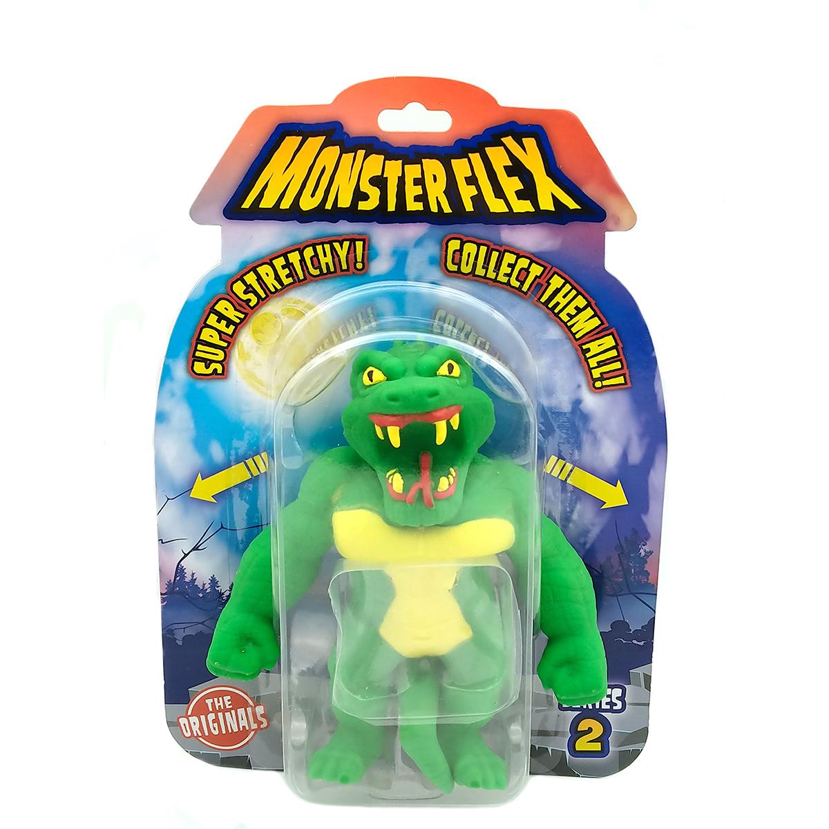 Figurina flexibila Monster Flex, S2, Reptile Man