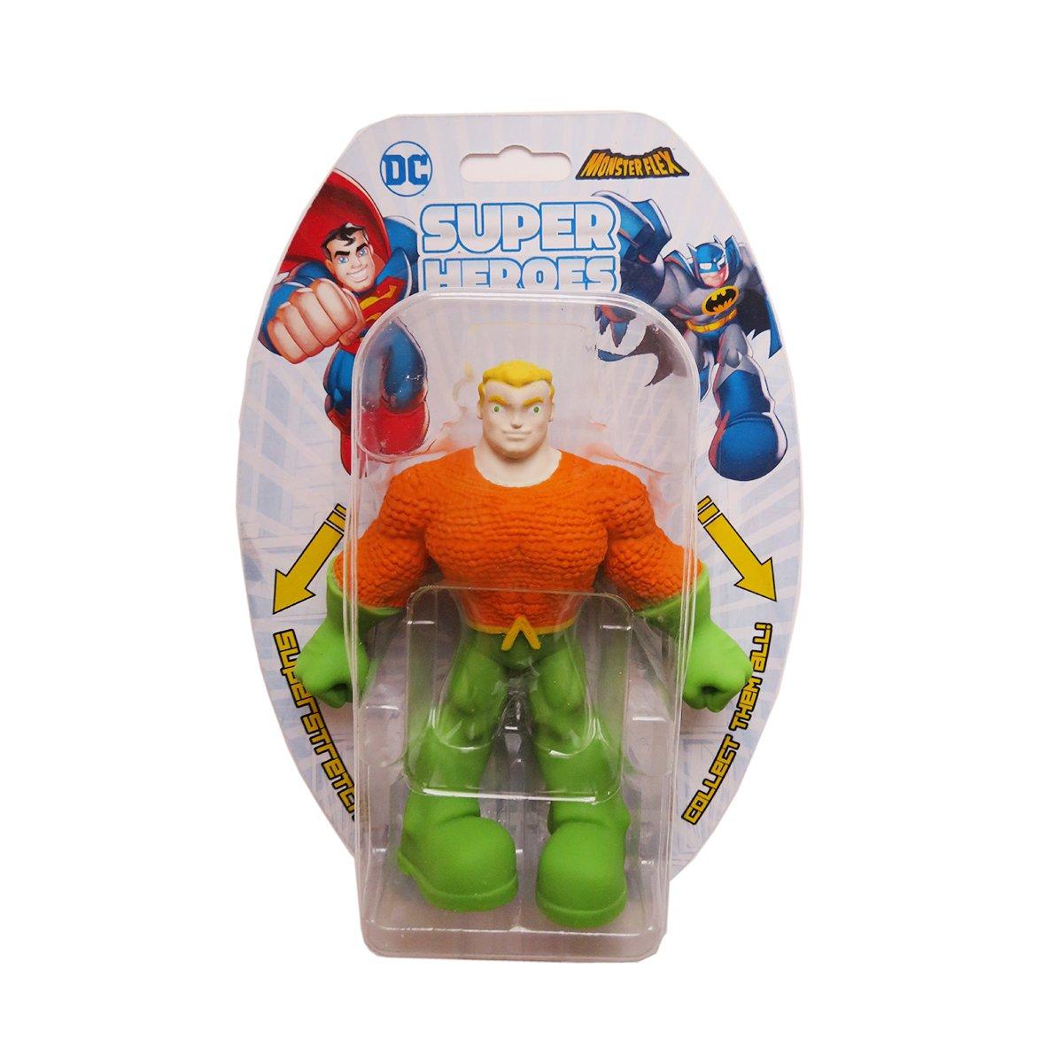 Figurina flexibila Monster Flex, DC Super Heroes, Aquaman
