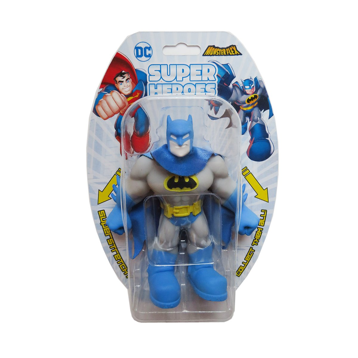 Figurina flexibila Monster Flex, DC Super Heroes, Batman