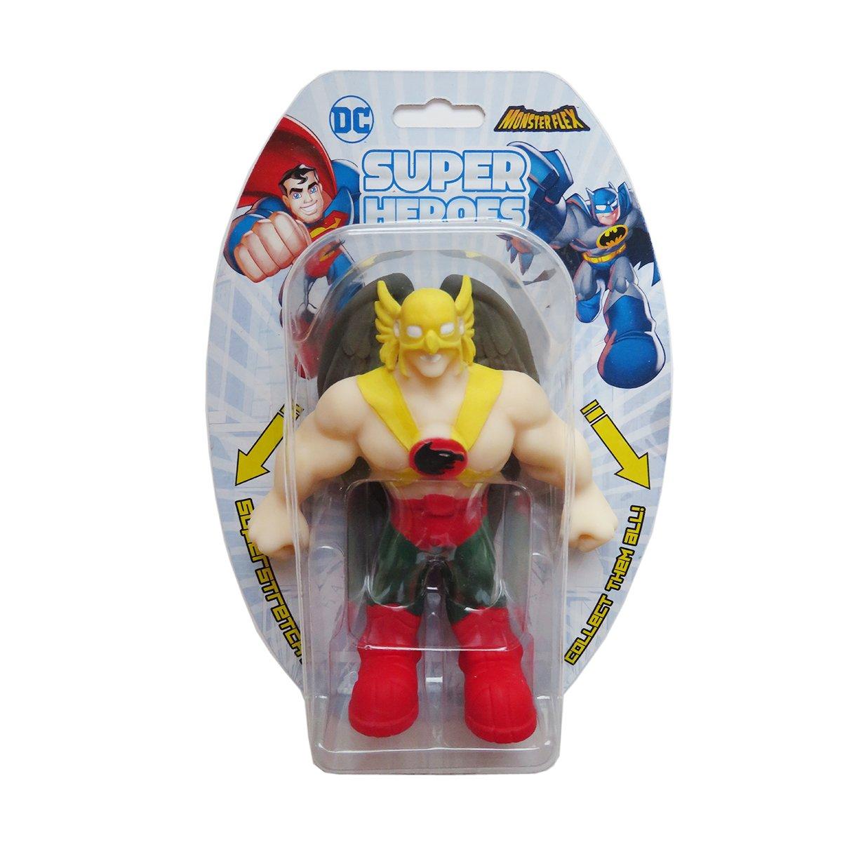 Figurina flexibila Monster Flex, DC Super Heroes, Hawkman